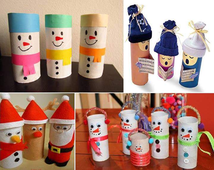 Adorable Paper Roll Christmas Crafts Diy Cozy Home