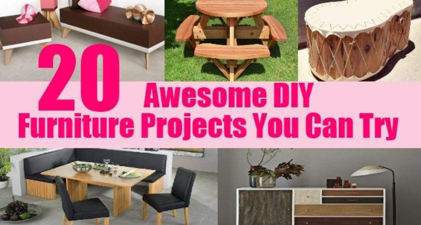 Awesome Diy Furniture Projects Can Try Home Life