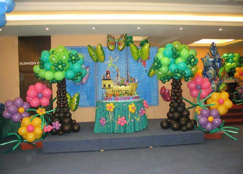 Balloon Decoration Perfect Birthday Party Accessories