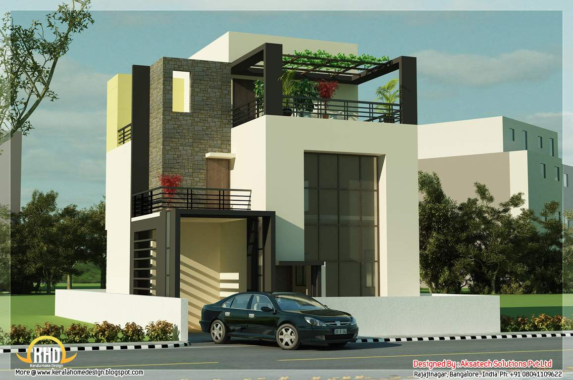 Beautiful Modern Contemporary House Renderings Home Appliance