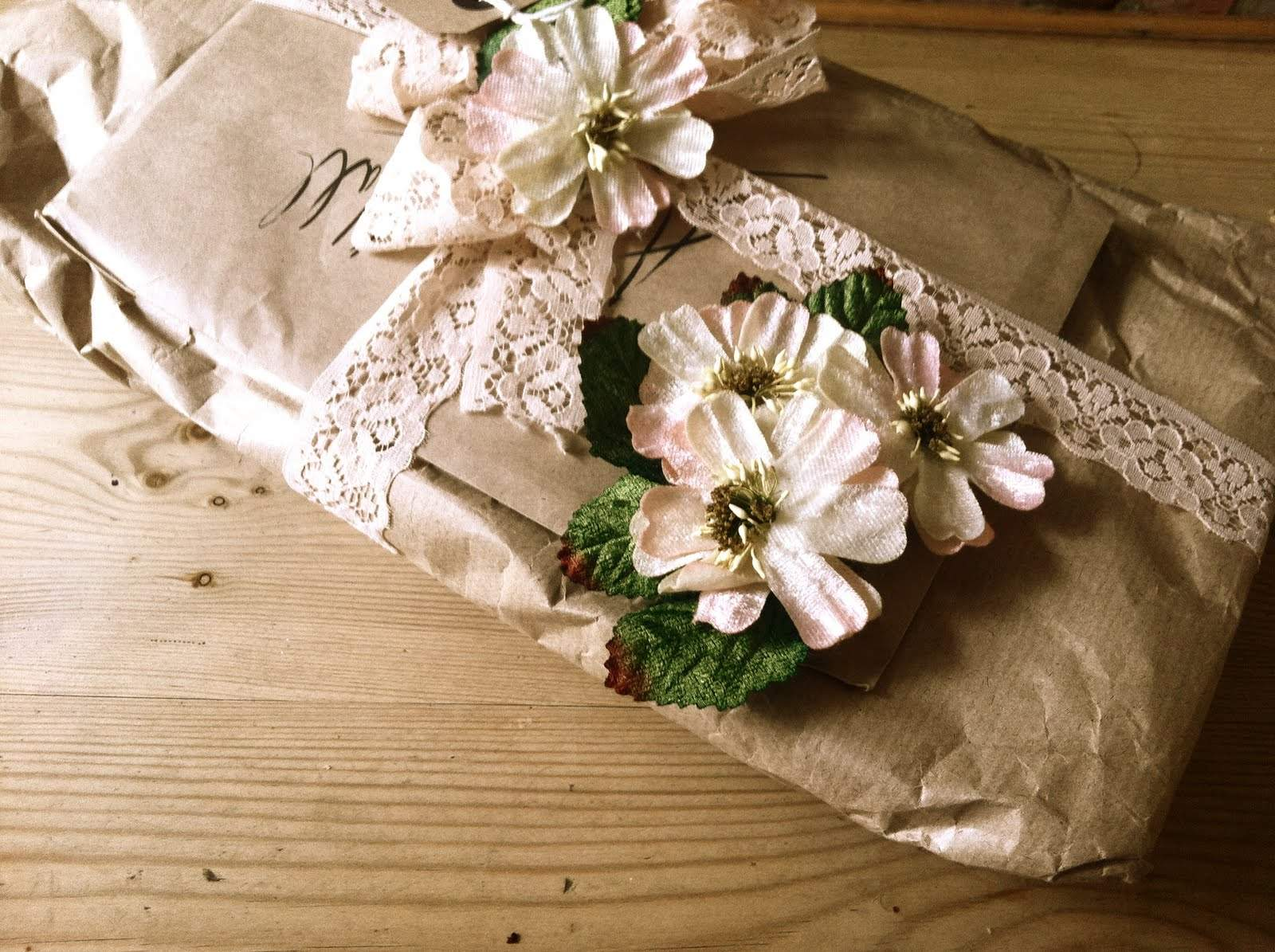 Beautifully Wrapped Birthday Presents Gift