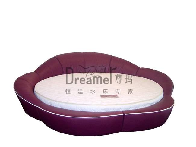 Bed Waterbed Mattress Round Floating Function Water
