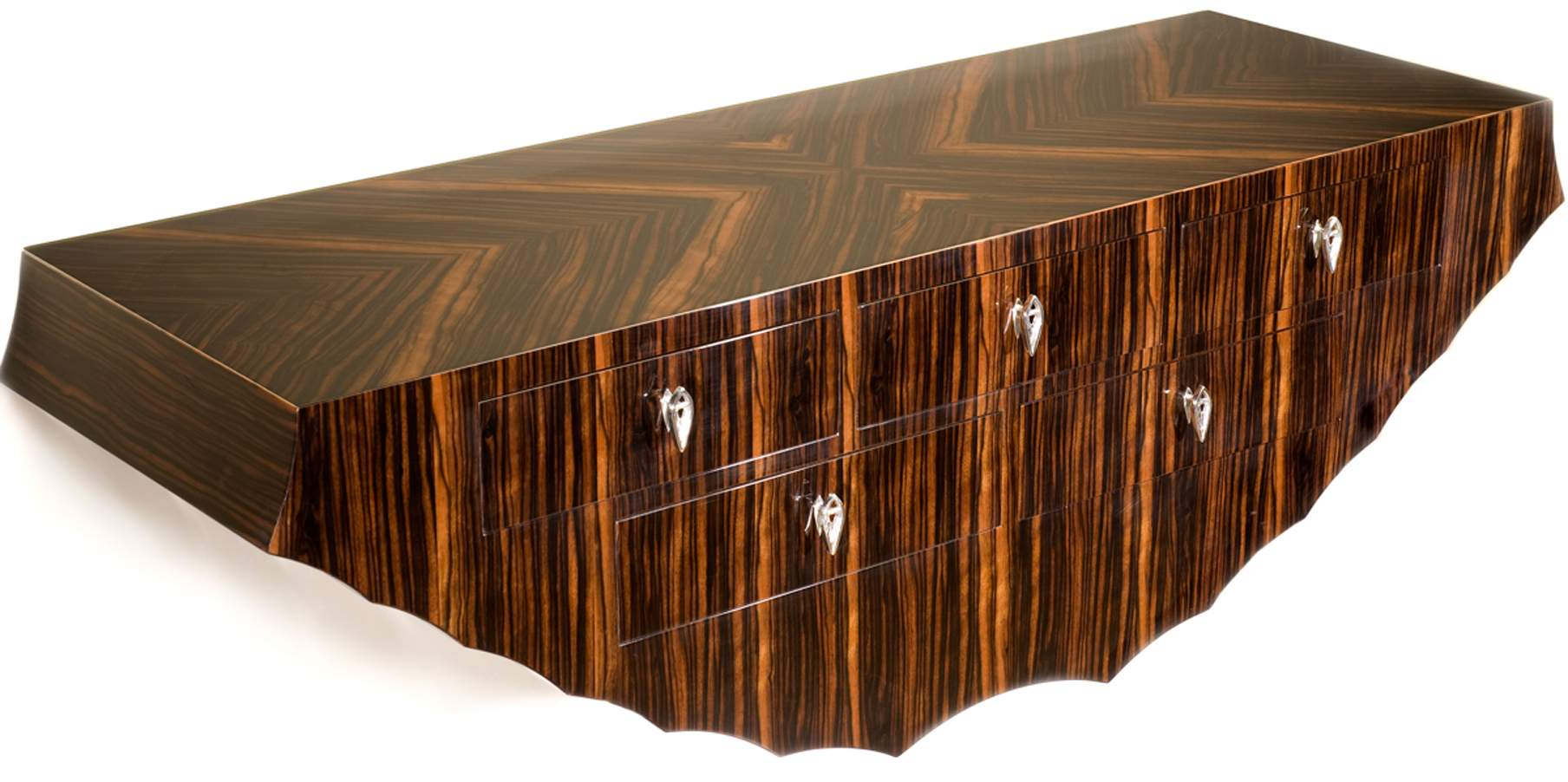Bespoke Global Product Detail Wall Mounted Drawer Console