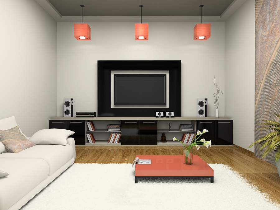 Best Modern Living Room Home Theater Ideas House Remodeling