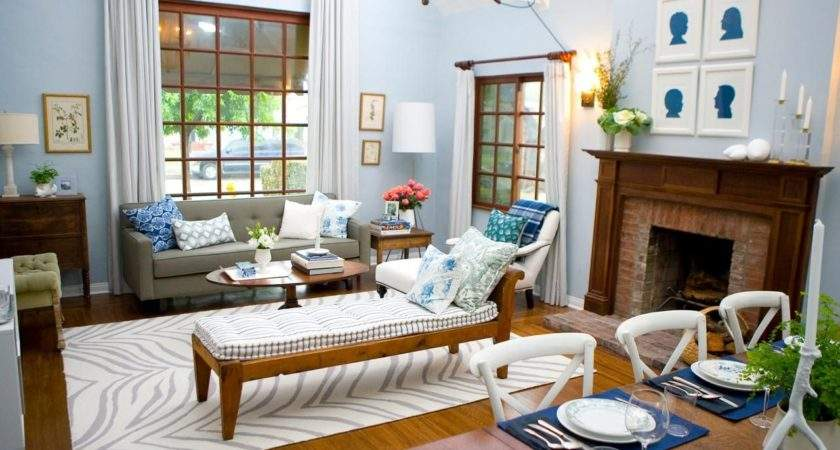 Blue Living Rooms Made Relaxing