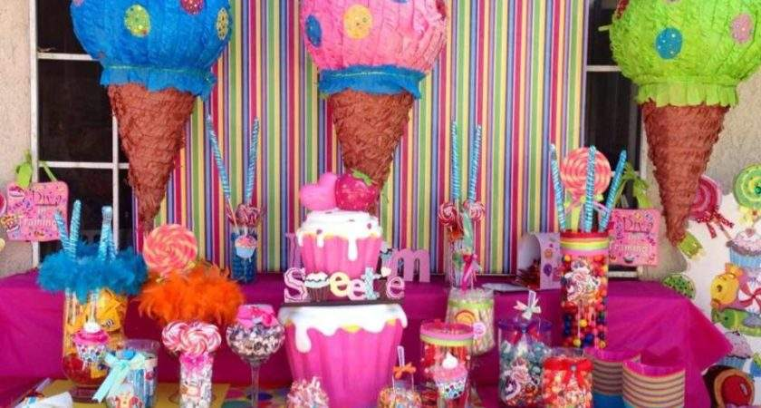 Candy Birthday Land Catch Party