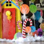Candyland Christmas Decorations Diy Candy Decor Quotes