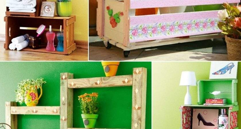 Cheap Diy Furniture Projects Ideas Reuse Wooden Things Home
