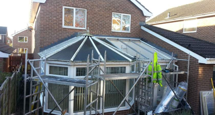Conservatory Roof Conversion Examples Roofing Solutions
