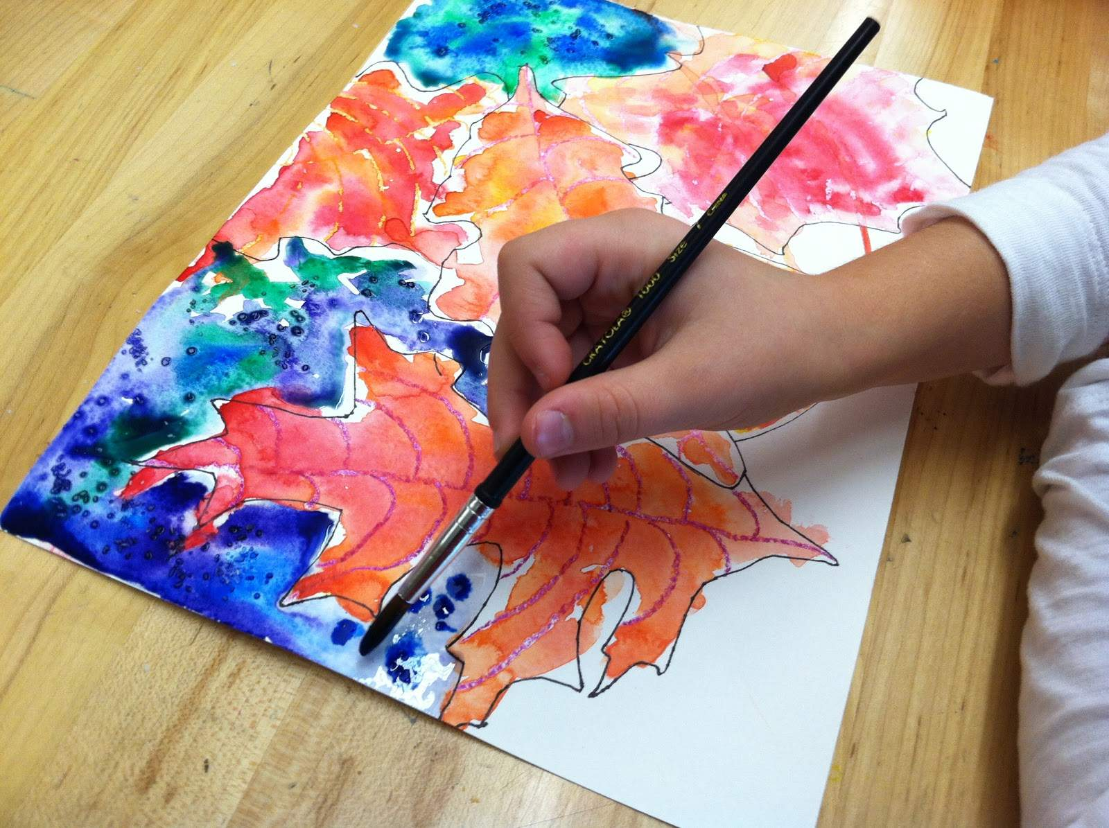 Cool Easy Paintings Warm Color