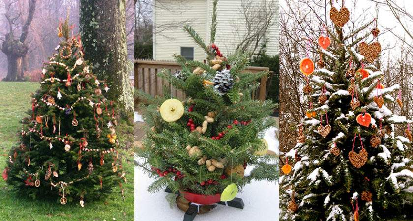 Decorate Outdoor Holiday Tree Animals Dot Women