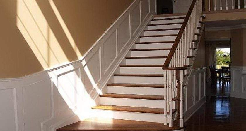 Decorations Wainscoting Kits Staircase Design Ideas Advantages