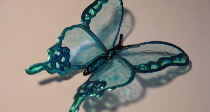 Decorative Butterflies Upcycled Plastic Bottle Art Theseanymph
