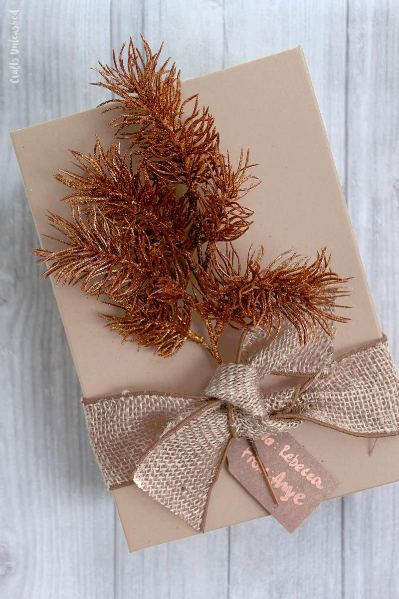 Diy Gift Wrapping Ideas Copper Kraft Consumer Crafts