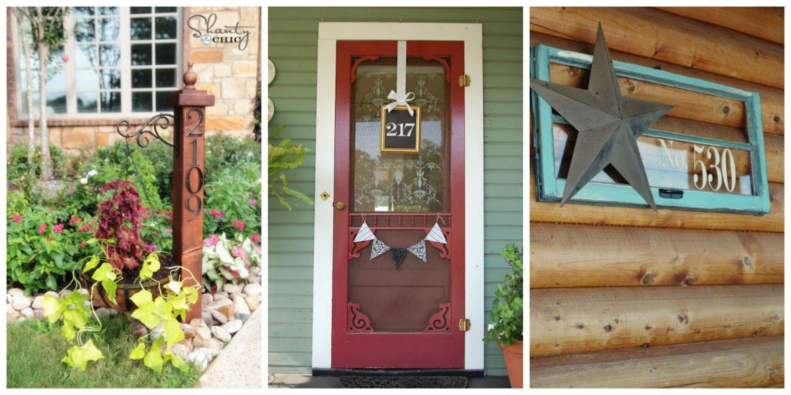 Diy House Number Ideas Cool Numbers Can Make