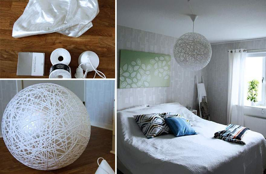 Diy Lamps Chandeliers Can Create Everyday Objects