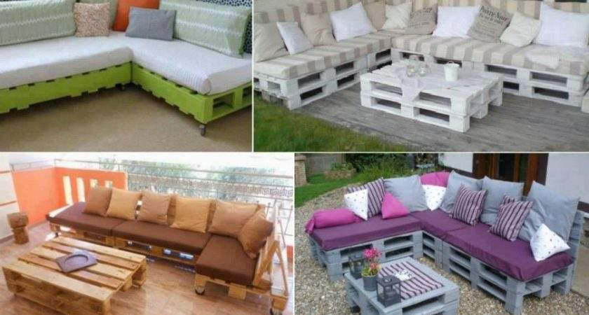 Diy Pallet Home Furniture Projects