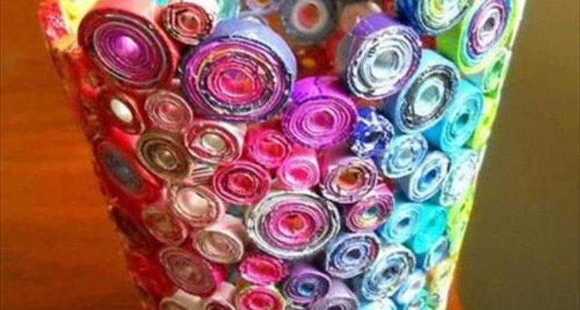 Diy Recycled Art Projects Craft