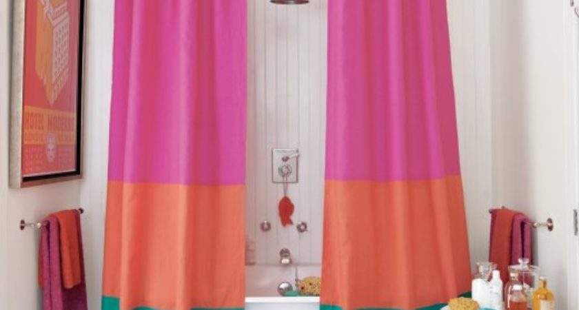 Diy Shower Curtains Anyone Could Make Put