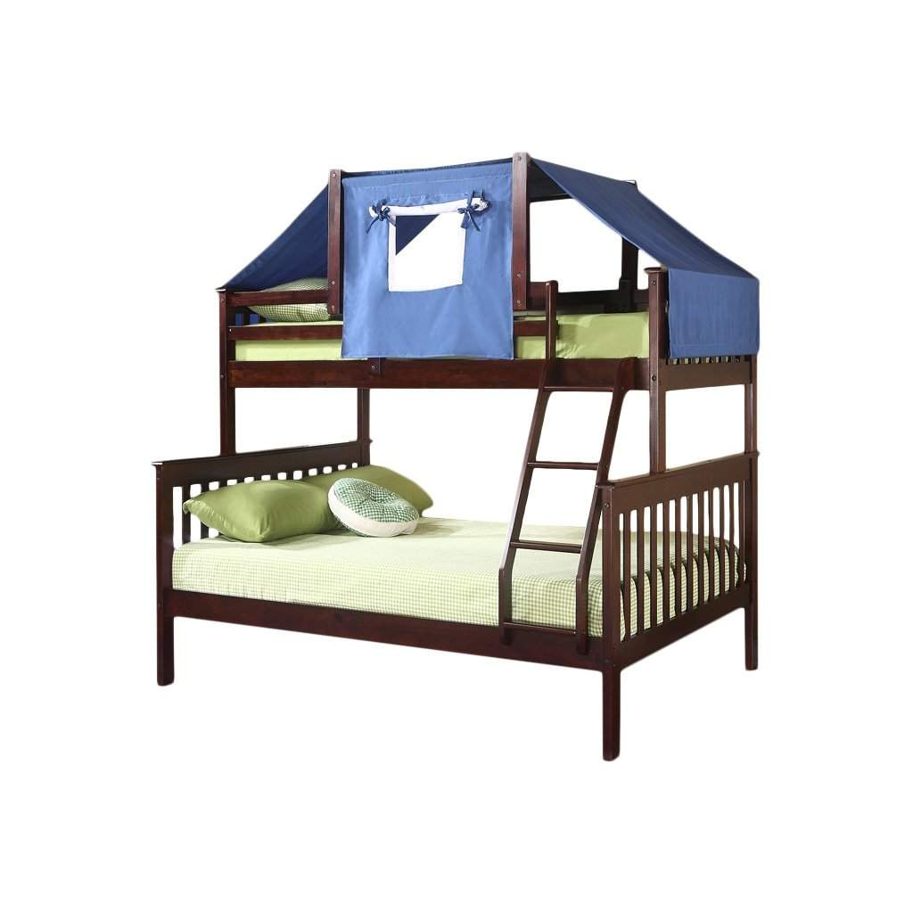 Donco Kids Twin Over Futon Bunk Bed