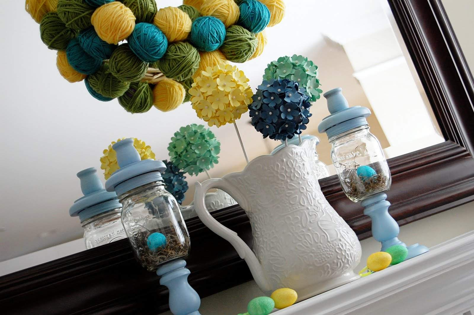 Easter Decorations Center Piece