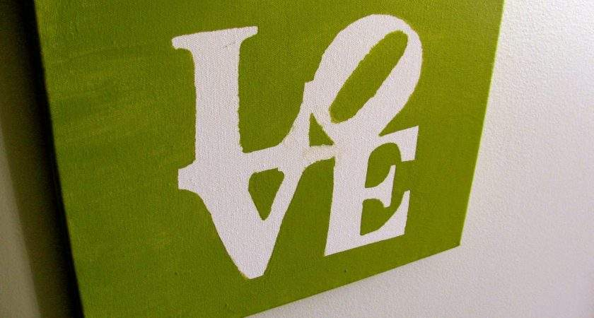 Easy Things Paint Canvas Some Love Added Our