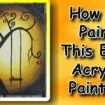 Easymeworld Paint Easy Acrylic Painting Beginners
