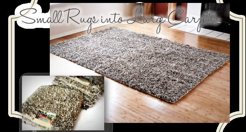 Finding Aloha Diy Turn Accent Rugs Into Large Area