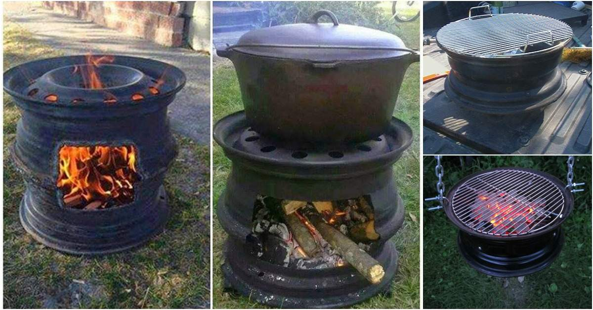 Finest Make Your Own Bbq Grill Car Wheels Diy Crafts