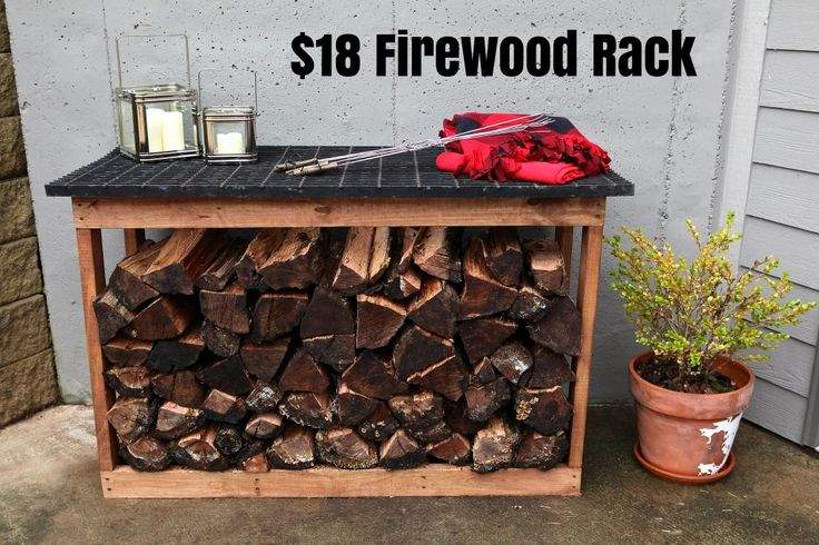 Firewood Rack Ever Have House Fireplace Permanent