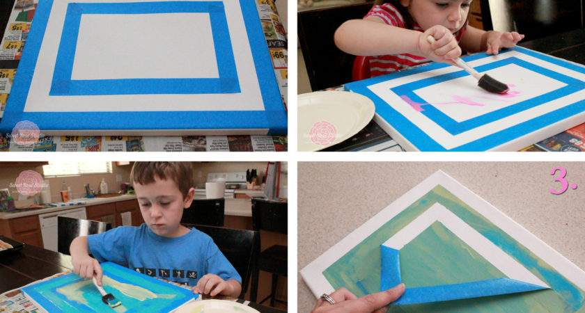 First Kids Canvases