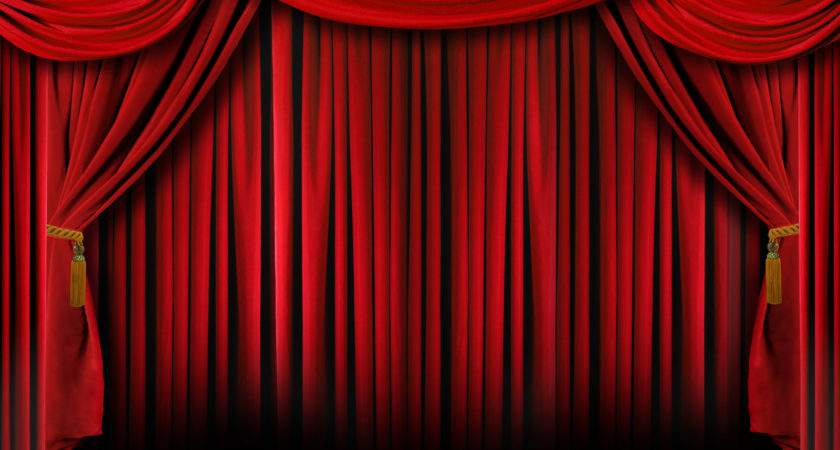 Freegreatpicture Red Curtain Booths