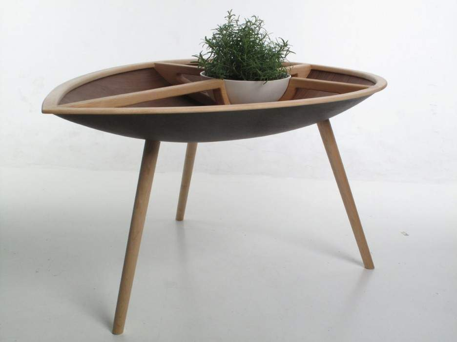 Furniture Unique Wooden Handcrafted Table Chair