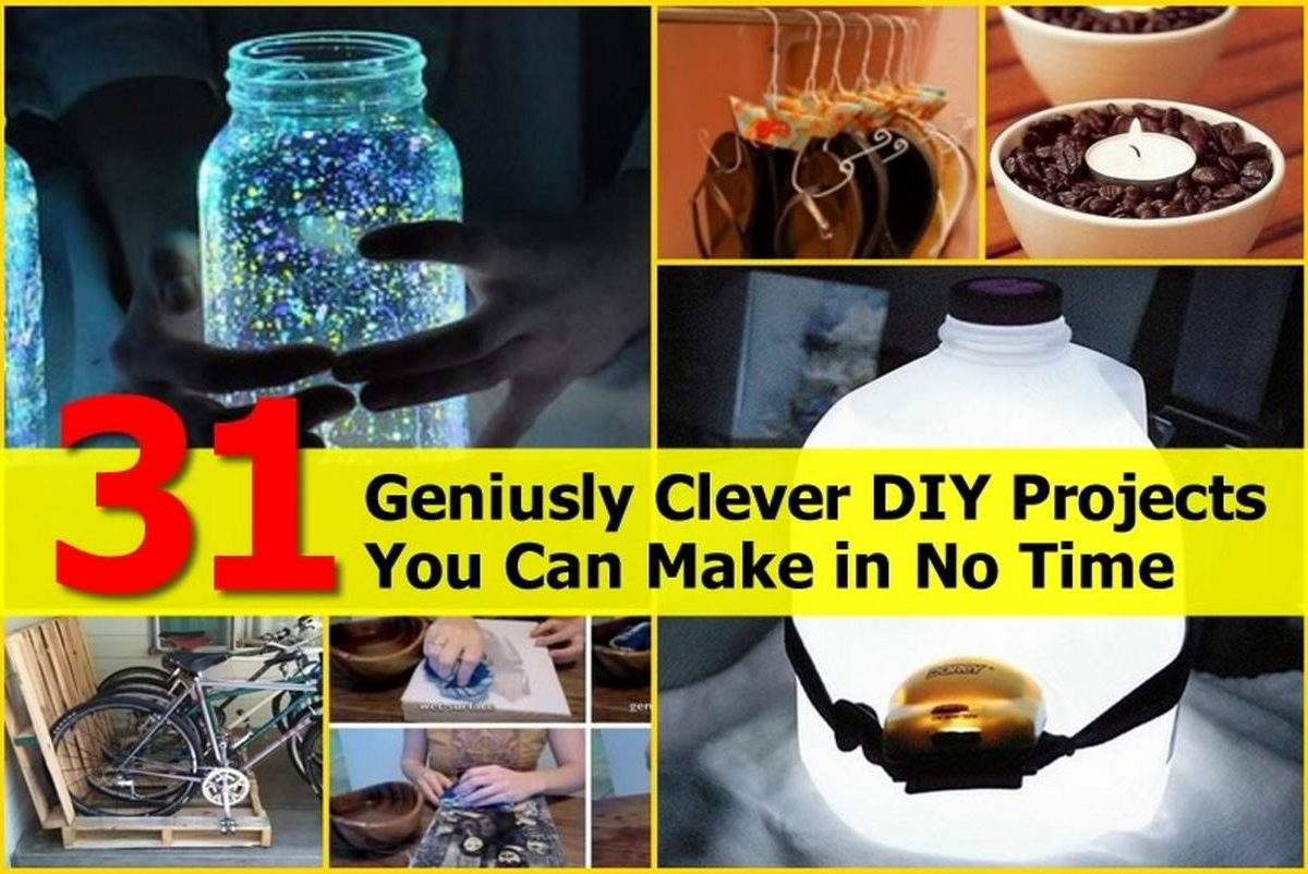 Geniusly Clever Diy Projects Can Make Time