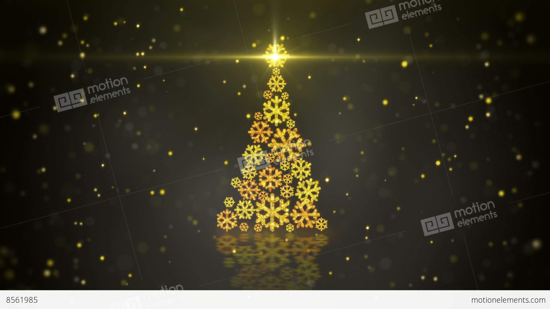 Gold Metal Contemporary Christmas Tree Nordic Style Decor