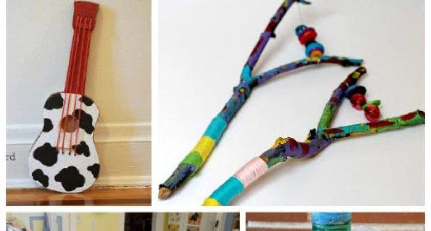 Gorgeous Handmade Instruments Made Recycled Items