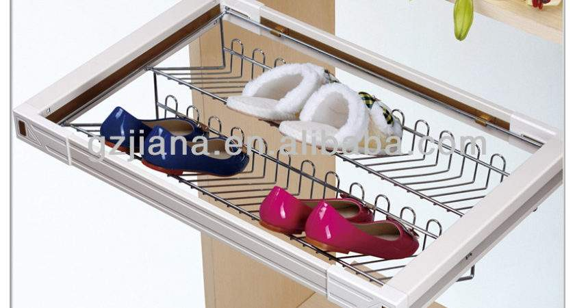 High Quality Pull Out Sliding Shoe Rack