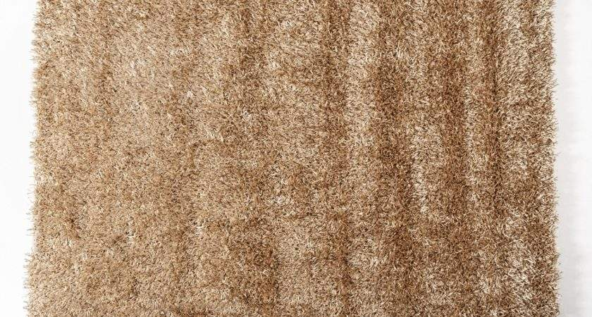 Home Shaggy Gold Large Area Rug