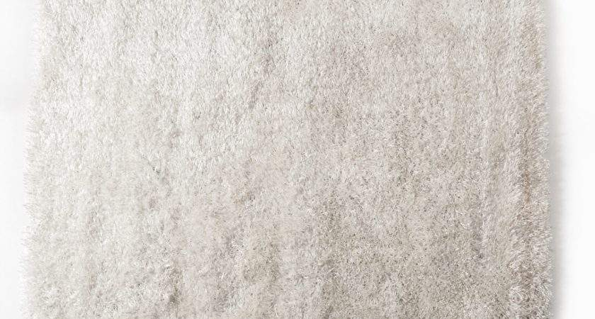 Home Shaggy White Large Area Rug