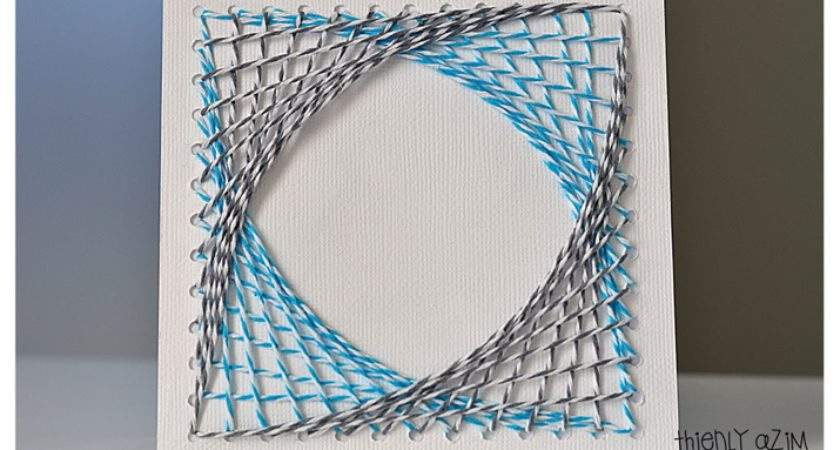 Into Geometric String Art World Let Your Tour Guide