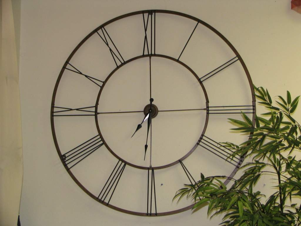 Large Wall Clock Decorations