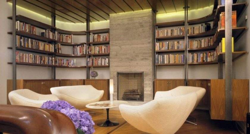 Library Design Quiet Reading Room Awesome Custom Home
