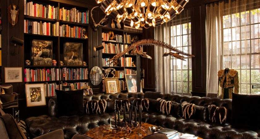 Library Within Office Room Ideas