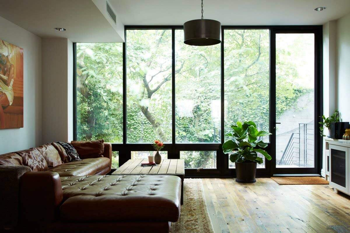 Light Filled Nyc Townhouse Renovation Offers Comfortable