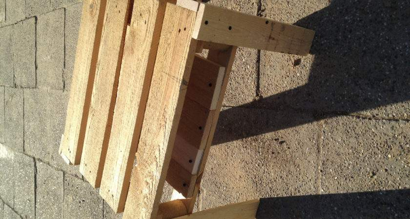 Made Pallet Wood Pallets Into Useful Things
