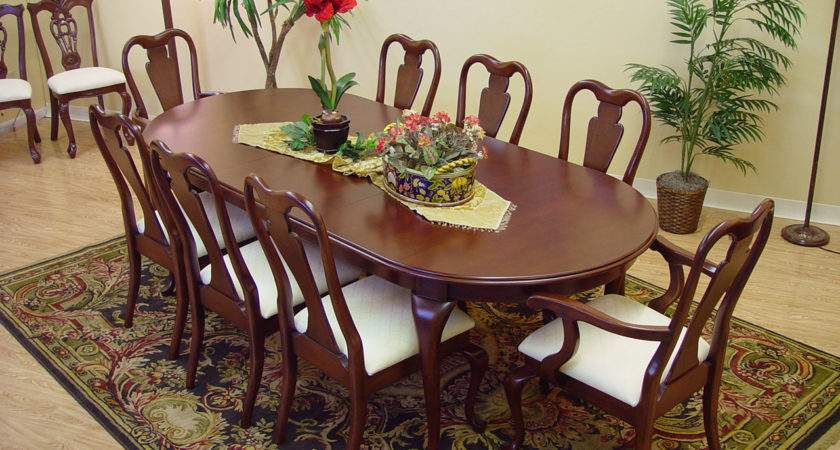 Mahogany Dining Room Table Chairs Marceladick