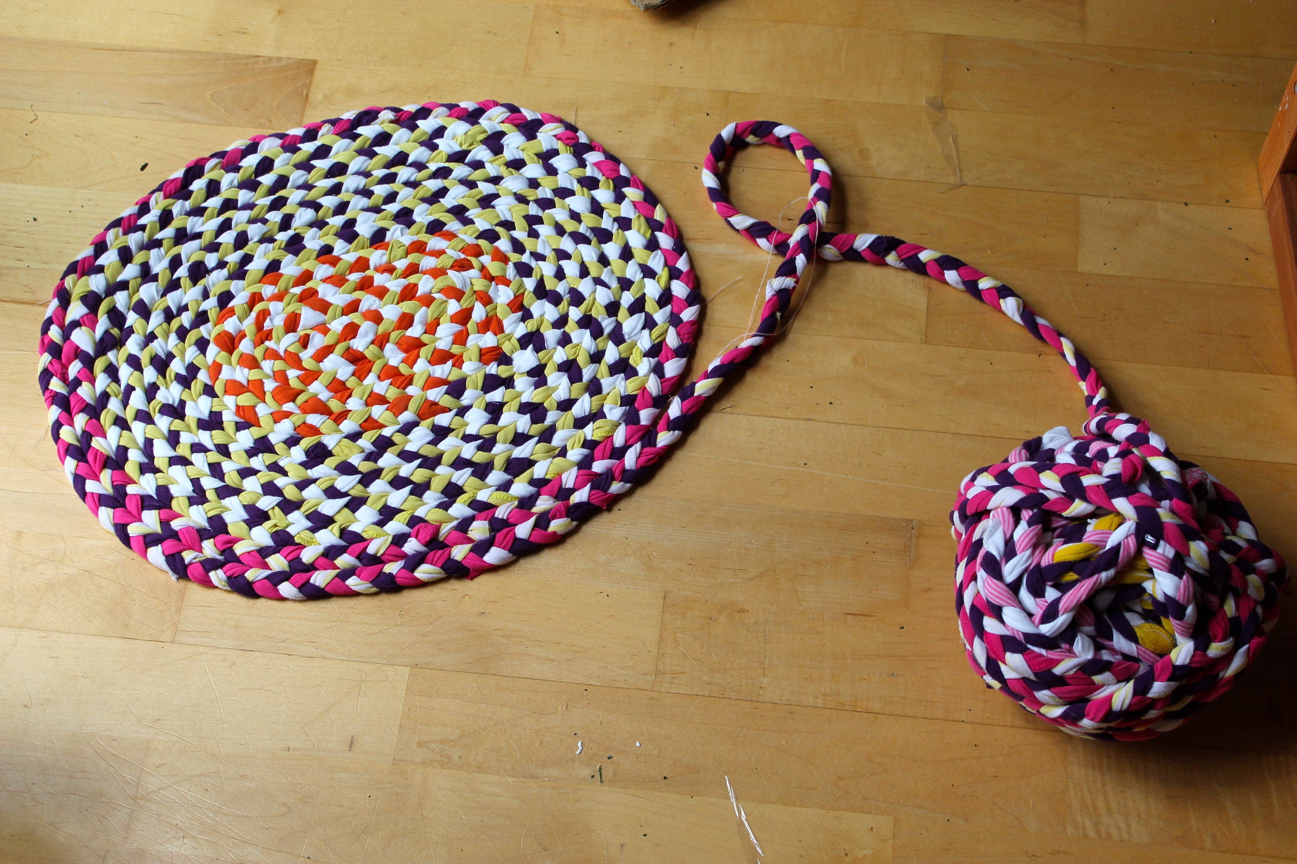 Make Braided Rug Without Sewing Roselawnlutheran