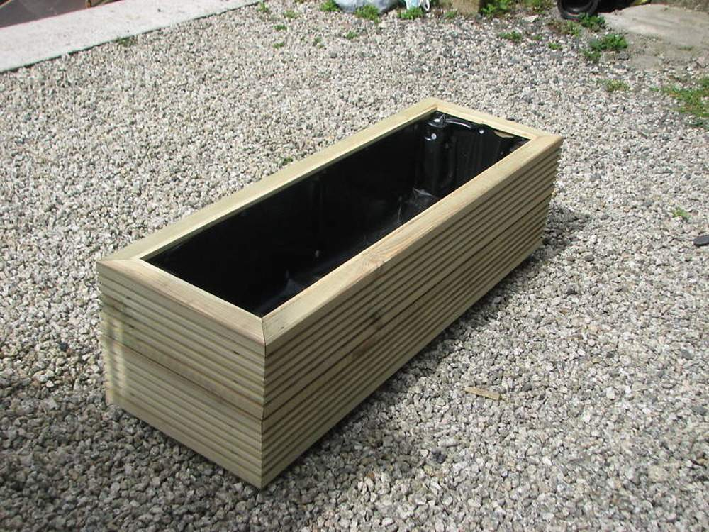 Making Timber Planters Troughs New Decking Board Carpentry
