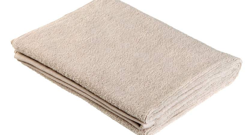 Norwex Towels Bath Towel Taupe Large Angled