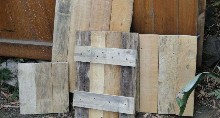 Old Pallet Wood Mounting Stags Things Made Pallets Pint